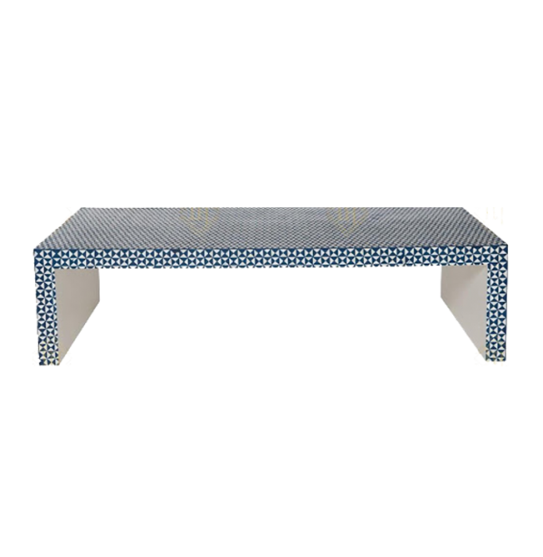 Bone Inlay Coffee Table Chesk Design