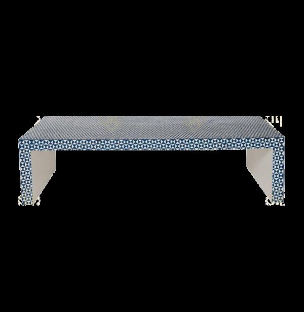 Bone Inlay Coffee Table Chesk Design