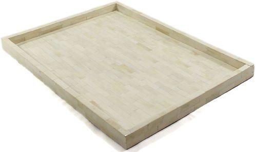 Full Ivory Bone Inlay Tray Square