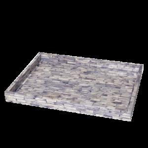 Purple Colored Bone Inlay tray