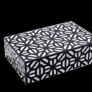 Handmade Black Jewelry Box