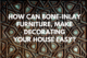 How Can Bone-inlay Furniture, Make Decorating Your House Easy